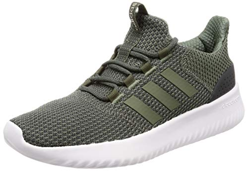adidas Men's Cloudfoam Ultimate Fitness Shoes, Green (Verbas/Carbon 000), 8 UK