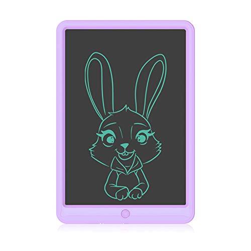 Tableta de Escritura LCD de 13 Pulgadas, Ewriter Colorido Tablero de Dibujo Borrable, Tablero de Escritura Reutilizable, Tablero de Escritura Electrónico para Niños y Niñas, Regalo Educativo(Púrpura)