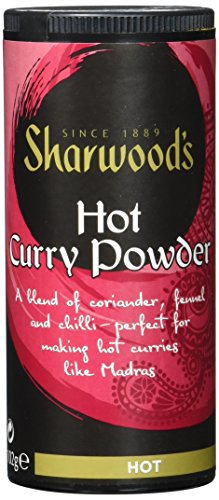 Sharwood`s Hot Curry Pulver, 6er Pack (6 x 102 g)