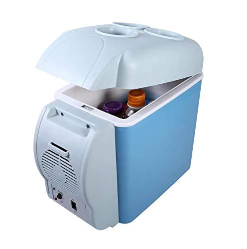 12V 7.5L Facilating Coche Refrigerador Mini refrigerador electrónico Congelador Frigorífico Viaje de Doble Uso