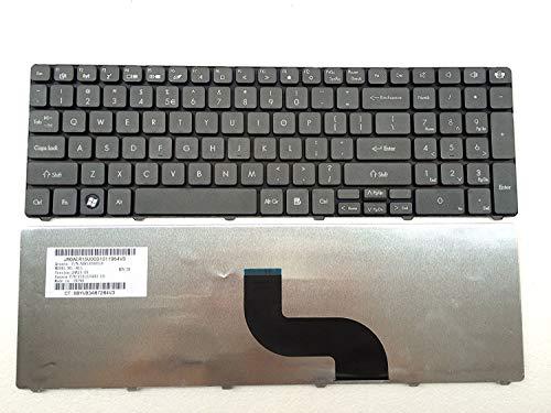 Keyboard Compatible with Acer Aspire 5810tz 5810PG 5800 5750 5745 5742 5741 5740G 5740DG 5740 5739G 5739 5738ZG 5738Z 5738G 5738 5736G 5736 5625 5553 5552 5551 5542G US AER15U00310 V160505AS1 black 51