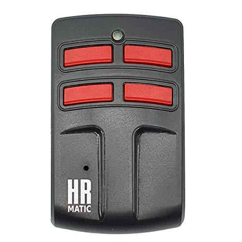 Mando Garaje Universal HR MULTI 4 Compatible Para Frecuencias 433MHz Código Fijo Y Variable Capaz De Unificar 4 Mandos Distintos En 1