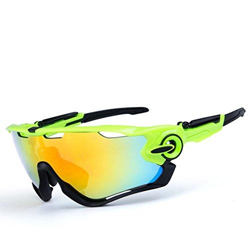 Opel-R Conducción Al Aire Libre Polarizado Deporte Ocio Material Playa Gafas de Sol/Gafas de Gafas C, Contiene Cinco Variedad de Lentes de Decoración , 12Subsection