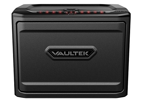 Vaultek PRO MX High Capacity Keypad Handgun Safe Multiple Pistol Storage Bluetooth Smart Safe (Titanium Gray)