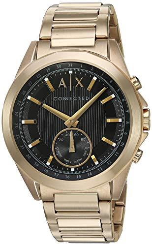 Armani Exchange Reloj Analogico para Hombre de Cuarzo con Correa en Acero Inoxidable AXT1008
