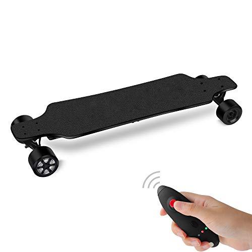 J.W. Drahtloses ferngesteuertes elektrisches Skateboard Bluetooth Longboard Rollbrett Motorisiertes Skateboard Höchstgeschwindigkeit 40 km/h Maximale Last 130 kg 5500 mAh