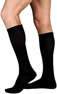 Juzo 4701 Basic Knee High Casual Socks 20 30 mmHg Black III