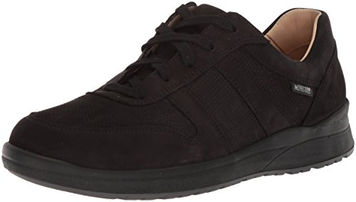 Mephisto Women's Rebeca Perf Sneakers Black Nubuck 8.5 M US