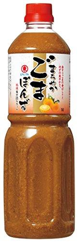 ヒガシマル醤油 まろやかごまぽん酢 1L