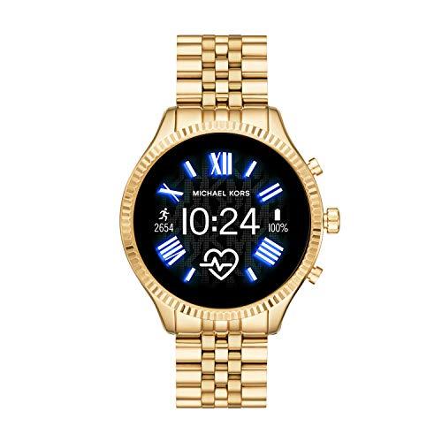 Michael Kors Smartwatch Pantalla táctil para Mujer de Connected con Correa en Acero Inoxidable MKT5078