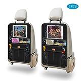 Aemiao Auto-Rücksitz-Organizer (2 Stück), wasserdicht, Auto Rückenlehnenschutz, mit extra großem...
