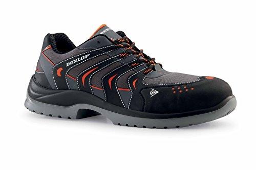 Dunlop DL0201003-44 Zapatos de protección laboral S1P SRC, Negro, 44