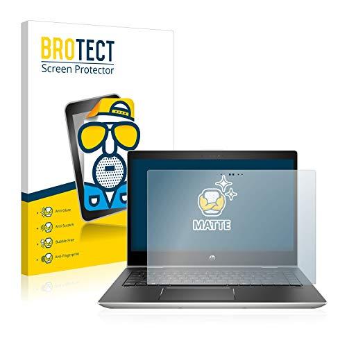 BROTECT Entspiegelungs-Schutzfolie kompatibel mit HP ProBook x360 440 G1 (Zwei Kameras) Bildschirmschutz-Folie Matt, Anti-Reflex, Anti-Fingerprint