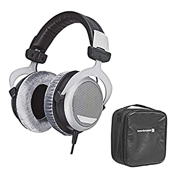 Beyerdynamic DT 880 Premium Edition 600 Ohm Over-Ear Stereo Headphones Bundle with Protection Plan and Leather Storage Bag