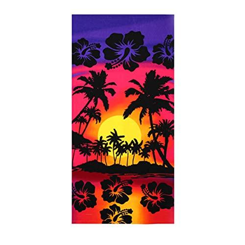 Cerca de 70x150cm Moda de Dibujos Animados Coloridos Moda Modelo HD Impresión HD Playa de la Playa Toalla de baño 2pcs-C6