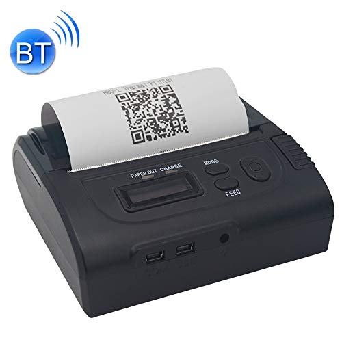 Lowest Price! Wireless Thermal Printer Portable Mini Receipt Ticket Printer POS-8002LD Portable Blue...