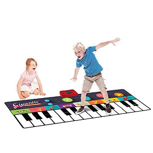 Spielzeuge Für 4-6 Jahre Alt Mädchen Jungs -Piano Keyboard Dancing Mat, Teppich Für Elektronische Musik Berühren Sie Play Blanket Baby Pedal Piano Mat Frühe Erziehung Geburtstagsgeschenke