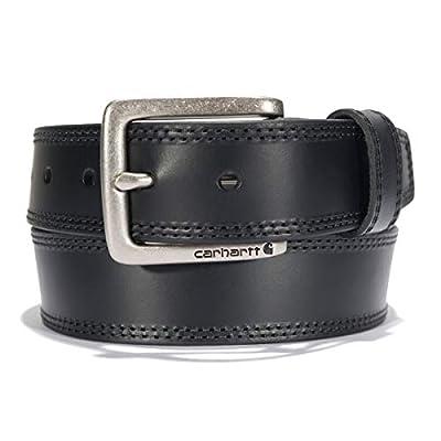 Carhartt Men's Casual Belt, Double Black, 36
