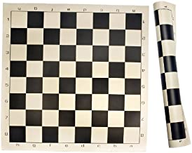 Sterling Games Roll Up Chess Mat in Black