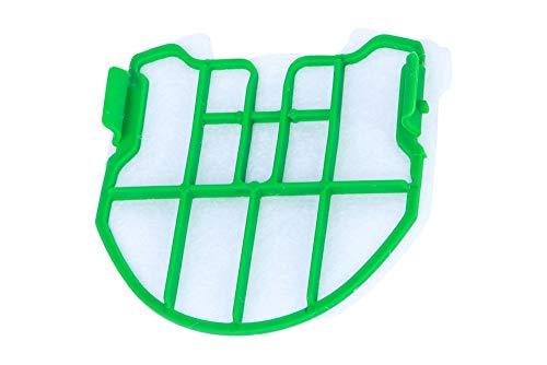 Hochwertiger Filter, Motorfilter, Sicherheitsfilter Feinfilter passend für Vorwerk Kobold VB 100 Akkustaubsauger - schützt den Motor vor Verschmutzung - nach Gebrauch von 5-6 Staubbeuteln wechseln