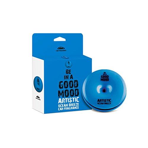 Be in a Good Mood - Fragancias para coches - Aceites esenciales y ambientador para coche con difusor de ventilación - fácil de usar - mejora su estado de ánimo y elimina olores desagradables