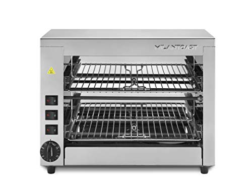 Milan Toast 491.012 Fornetto Barbecue 6 Zangen 430mm x 230mm x 350mm