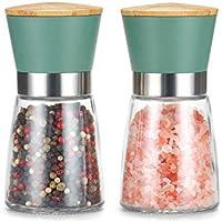 Vucchini Adjustable Stainless Steel Salt and Pepper Grinder Set