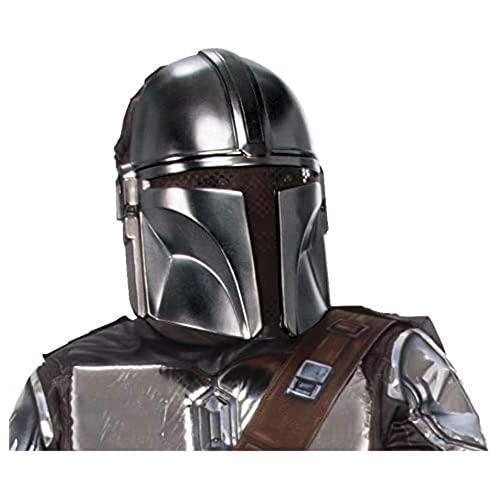 Rubie's Star Wars The Mandalorian Beskar Armor Children's Half-Mask