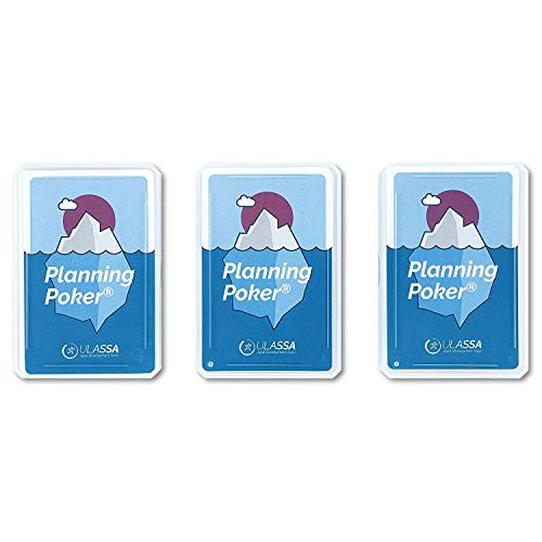 Agile Planning Poker Cards for 12 person (3 Sets)
