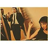 WYBFLF Leinwand Poster Quentin Tarantino Direkt Uma Thurman