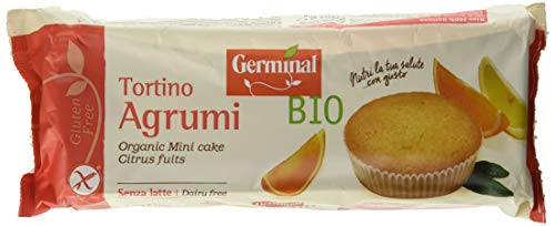 Germinal Bio Tortino Agrumi - 180 gr, Senza glutine