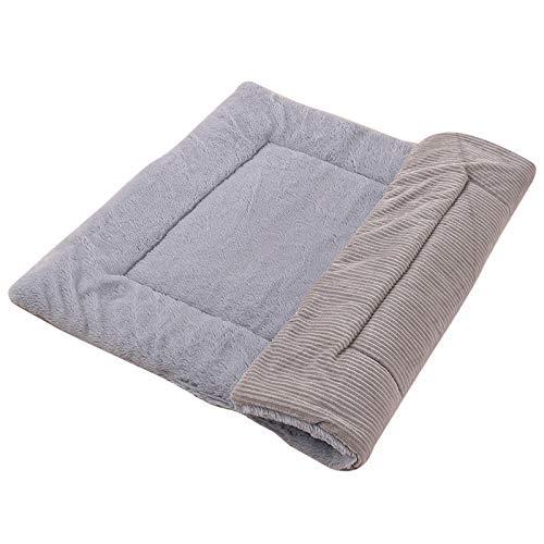 Abimy Pet Dog Blanket Winter Thickening Warm Cat Dog Cushion Dual-Purpose Pet Cushion Sofa Cushion Double Sided