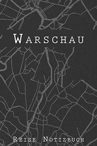 Warschau Reise Notizbuch: 6x9 Reise Journal I Tagebuch mit Checklisten zum Ausfüllen I Perfektes Geschenk für den Trip nach Warschau (Polen) für jeden Reisenden