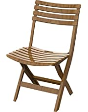 Cosmoplast 6291048123743 Plastic Folding Chair for Indoors and Outdoors, Sandalwood