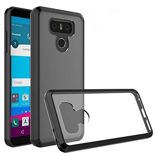 Fundas LG For LG G6 Acrylic TPU Armadura Protectora Transparente Fundas LG (Color : Black)