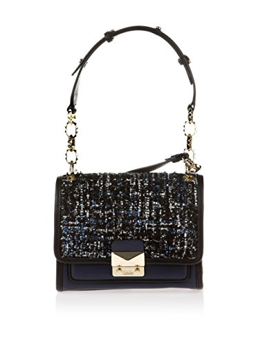 Karl Lagerfeld, Sac menotte pour Femme bleu bleu nuit