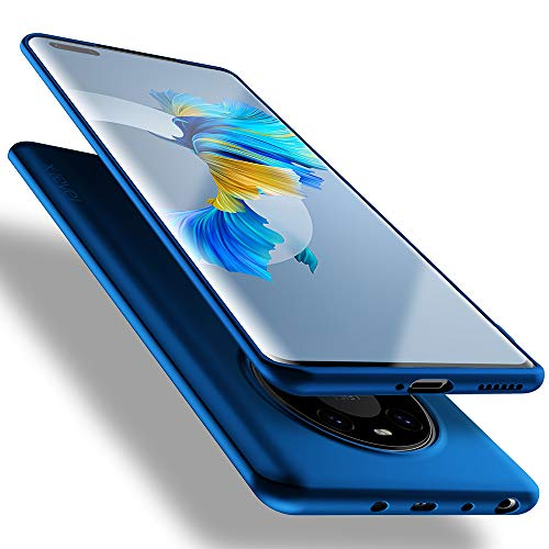 X-level für Huawei Mate 40 Pro Hülle, [Guardian Serie] Soft Flex TPU Hülle Superdünn Handyhülle Silikon Bumper Cover Schutz Tasche Schale Schutzhülle Kompatibel mit Huawei Mate40 Pro - Blau