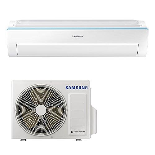 Samsung Clima AR09NXWSAURNEU+AR09NXWSAURXEU New Triangle Monosplit Climatizzatore, Wi-Fi, 9000 BTU