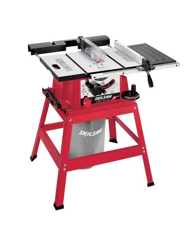 SKIL 3400-15 15 Amp 10-Inch Table Saw with Stand and Dust Collection