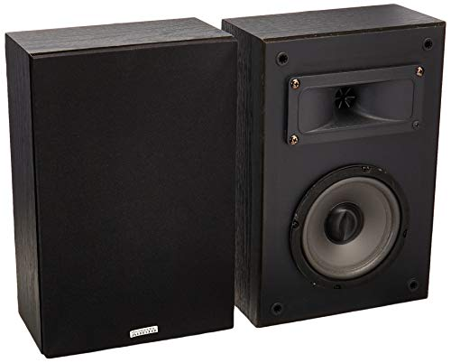 Great Deal! Acoustic Audio PSS-52 Bookshelf Speakers 100 Watt 5.25 2 Way Home Theater Audio Pair