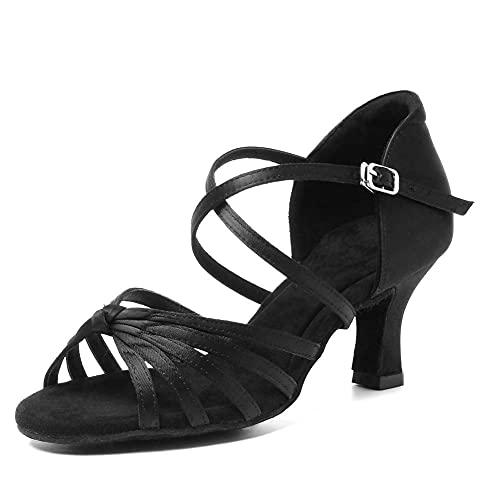 HRYOL Zapatos de Baile Latino Mujer...