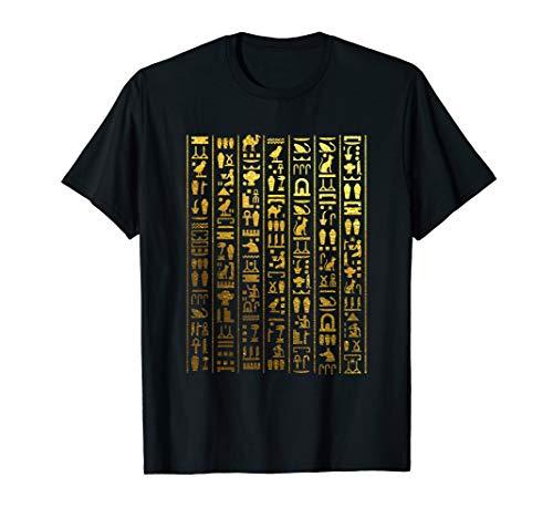 Egyptian Hieroglyphics - Ancient Egypt T-Shirt