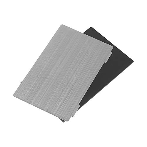 Creality Flexible Steel Plate and Magnet Sticker Compatible with LD-002H Resin 3D Printer 138 x 85 x 0.4 mm (2 Sets)