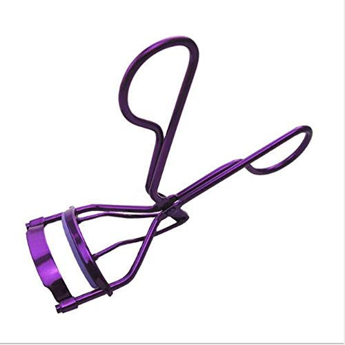 Corde Poignée Recourbe-cils Recourbe-cils Peigne Outil de beauté Pour Femmes Clips En Acier inoxydable Confort De stockage Et de Transport purple