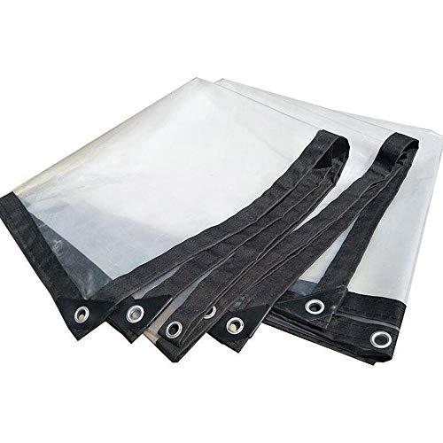 QI-CHE-YI waterdicht dekzeil transparante rand, geperforeerd, waterdicht, waterdicht, kunststof, vettig, bloem, raam, winddicht, broeikasfilm