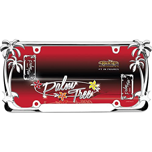 Cruiser Accessories 19003 Palm Tree License Plate Frame