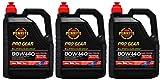 Penrite PRO Gear 80W-140 GL5 GL6 Olio Completamente Sintetico per Ingranaggi, con Inserto limitato, 7,5 Litri