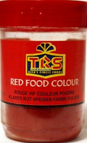 TRS - Colorante alimentare rosso, 25 g