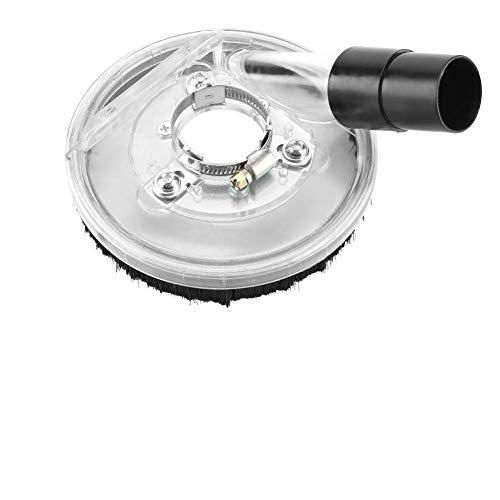 Staubschutzhülle-80-125mm Transparente und langlebige Staubsaugerabdeckung Trockenschleifabdeckung für Winkelschleifer Handschleifer