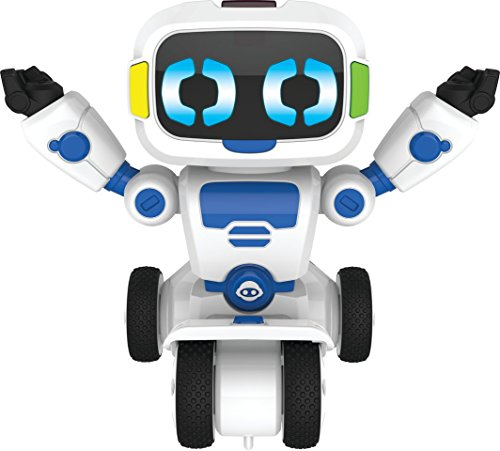 WowWee Tipster Toy Remote Control Car Balancing Robot Friend - White/Blue